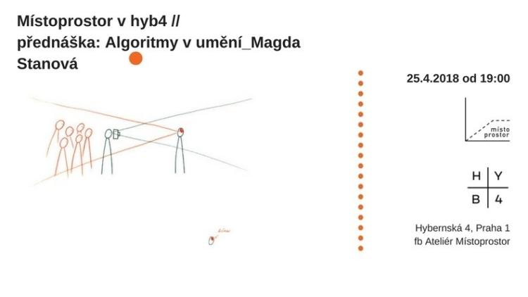Místoprostor v hyb4 // přednáška: Magda Stanová