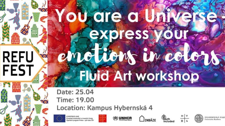You are a Universe: FLUID ART