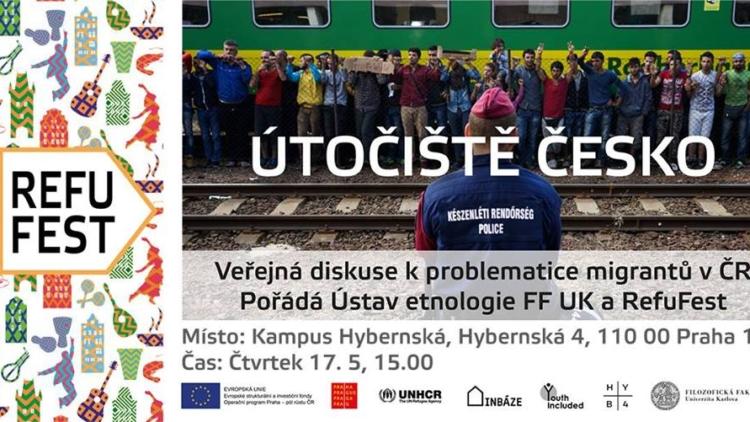 Útočiště Česko – veřejná diskuse