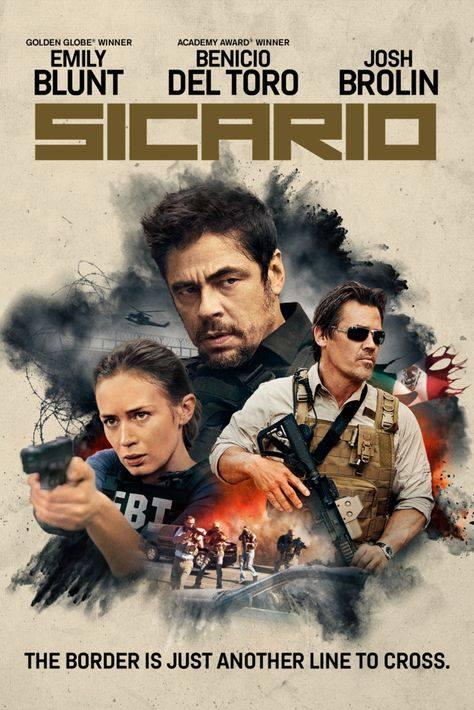 KINO HYB4: Promítání filmu Sicario s komentářem T. Kristlíka