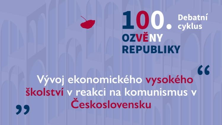 Vývoj vysokého ekonomického školství po nástupu komunismu v ČSR