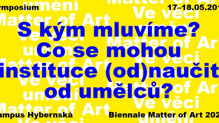 Symposium Biennale Matter of Art