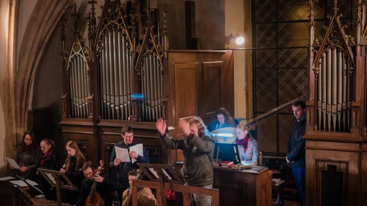 Veřejná zkouška: Giovanni P. da Palestrina – Missa de beata Virgine