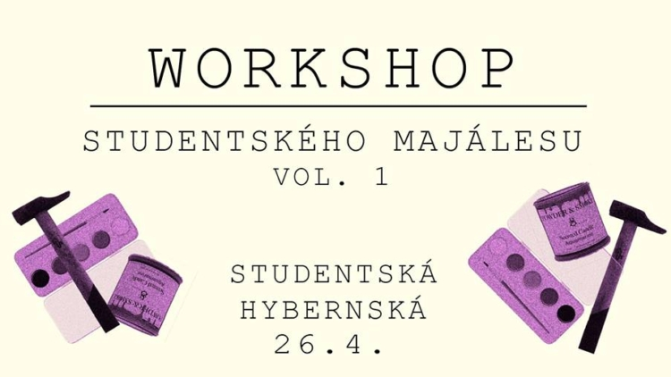 Studentský majáles – workshop
