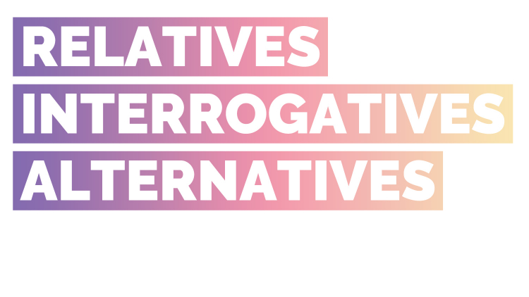 Workshop on relatives, interrogatives, and alternatives