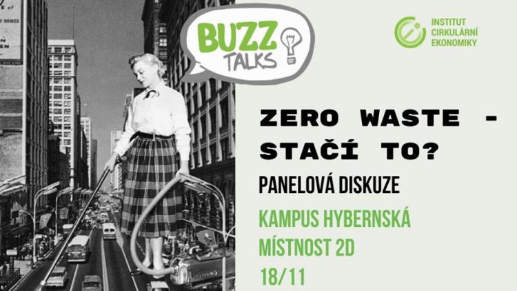 BUZZ Talks –  Zero waste – stačí to?