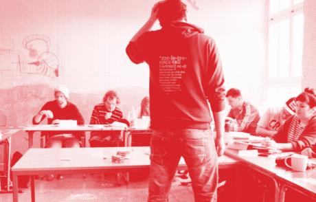 HYB4 Student: Vánoční promítání s Výlukou – Rebelská střední v Berlíně