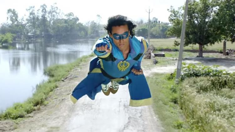 Superman v turbanu aneb indičtí superhrdinové