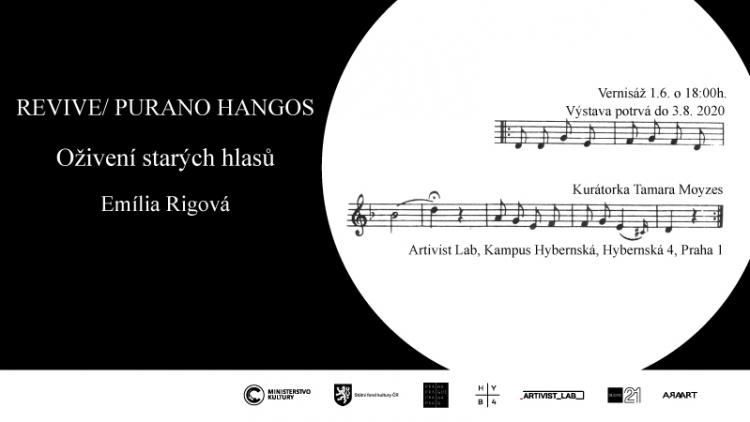 REVIVE/PURANO HANGOS  Oživení starých hlasů – Emília Rigová