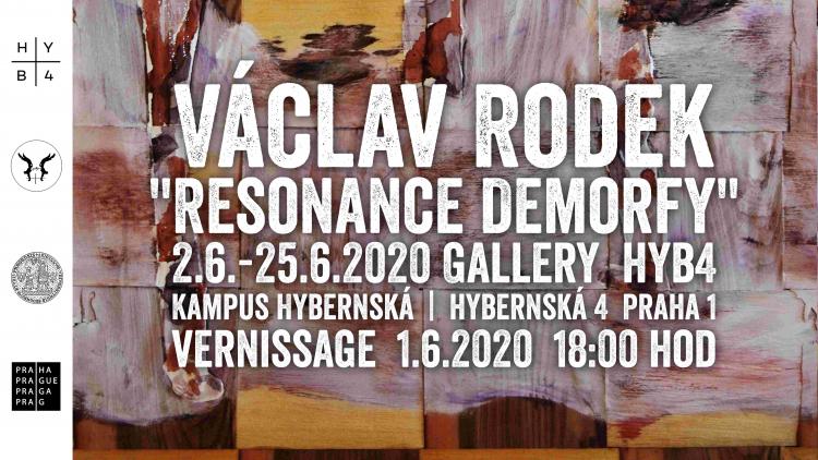 "Václav Rodek: ""Resonance demorfy"""