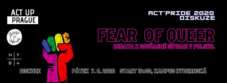 HYB4 Student: Act*Pride: Fear of Queer? Hlavní debata festivalu o současné situaci v Polsku
