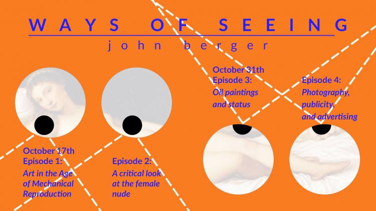 HYB4 Student: Social Screenings: Ways of Seeing, John Berger – Part 1 (1972)