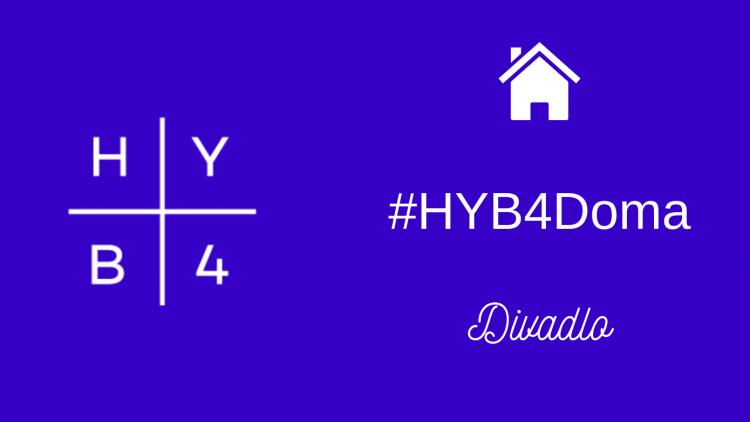 #HYB4DivadloDoma na Instagramu!