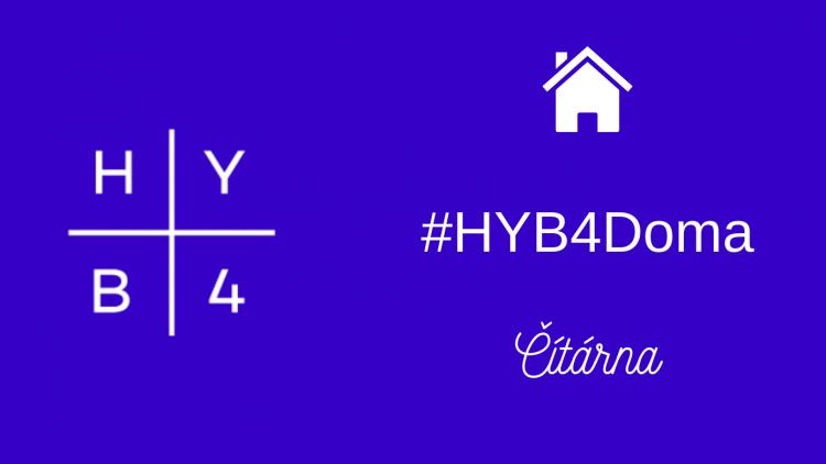 #HYB4ČítárnaDoma na Instagramu!