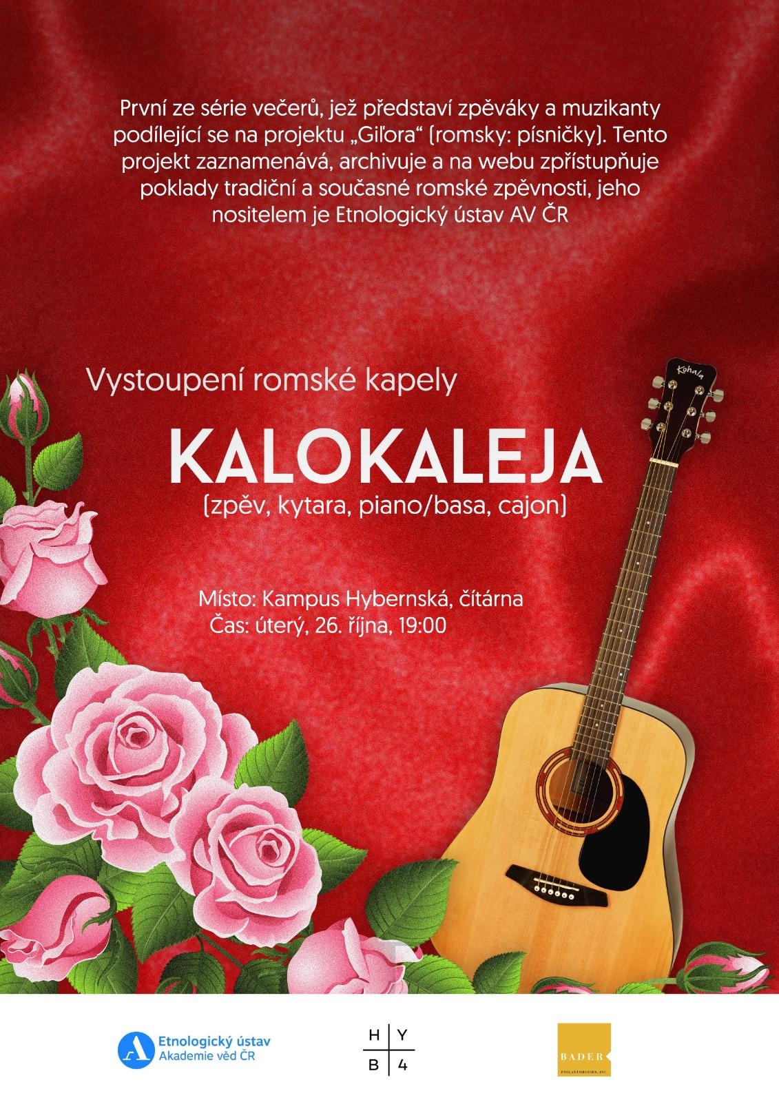 Vystoupení romské kapely Kalokaleja