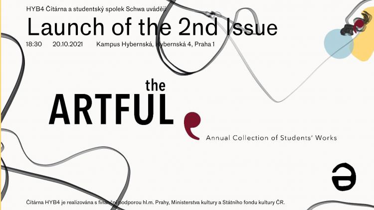 HYB4 ČÍTÁRNA: The Artful // Launch of the 2nd Issue